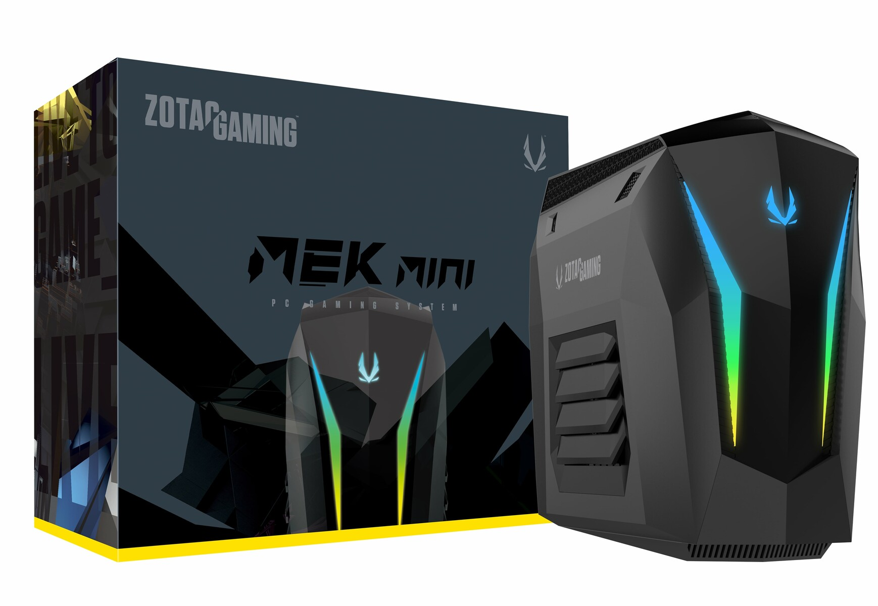 Zotac launches Mek Mini PC with removable GeForce RTX 2070