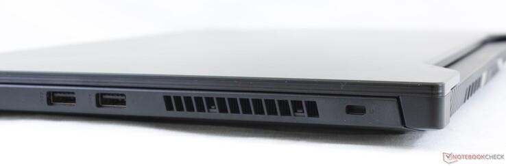 Kanan: Kanan: 2x USB 3.1 Gen. 1 Type-A, Kensington Lock