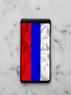 Smartphones in Russia will soon have to be more Russian... whatever that may mean. (Image via Charles DeLuvio on Unsplash, with edits)