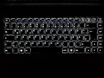 Keyboard backlight