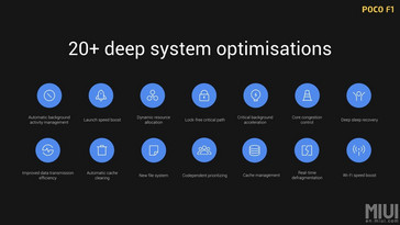 The optimizations run deep into the system with emphasis on performance. (Source: Xiaomi)