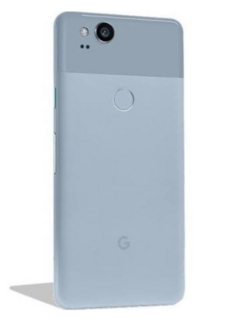 This the first look at the new Pixel 2 made by HTC in blue. (Source: Droid Life)