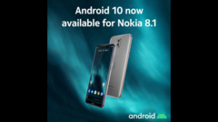 The Nokia 8.1 has a new software update. (Source: HMD Global)
