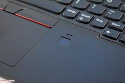 Touch fingerprint reader