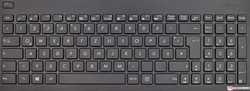 Asus VivoBook X751BP keyboard