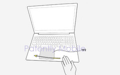 Future Samsung notebooks could recognize contactless user gestures (Source: Patently Mobile)