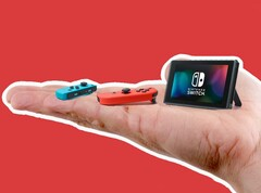 The smaller and more affordable Switch version may do away with the TV dock and sport a smaller screen plus side-controllers. (Source: Egnow)