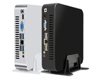 TOPTON's mini-PC has eight USB Type-A ports and two video outputs. (Image source: TOPTON)