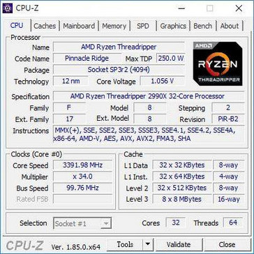 CPU-Z spec info (Source: HKEPC)