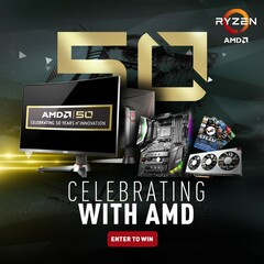 MSI giving away motherboards, video cards, and Steam gift cards in celebration of AMD's 50th anniversary (Source: MSI)