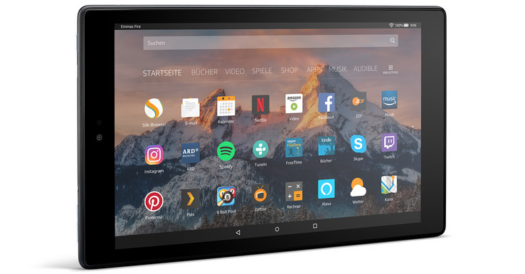 Amazon Fire Hd 10 2017 Tablet Review Notebookcheck Net Reviews