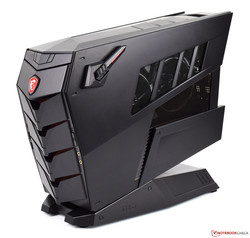 The MSI Aegis 3 8RD desktop PC review. Test device courtesy of MSI Germany.