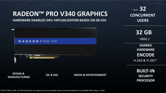 The AMD Radeon Pro V340 will be based on a dual Vega 10 setup. (Source: HardwareLuxx.de)