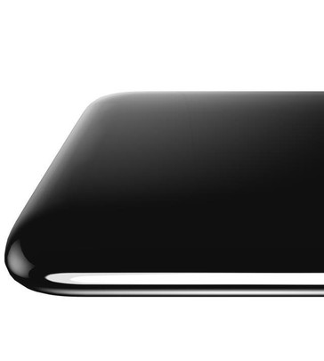 The rounded glass corners seem to be melding with the rear body. (Source: Ice Universe)