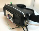 Build an Arduino-based VR headset with this cheap project. (Image source: jamesvdberg)