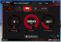 Asus GPU Tweak (Gaming Mode)