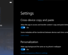 Galaxy S20 series owners can also copy and paste from their PCs in this new preview. (Source: Microsoft)