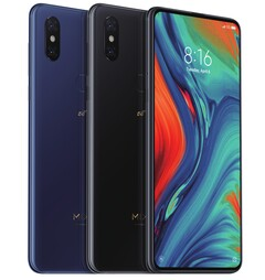 The Xiaomi Mi Mix 3 will first launch in Switzerland. (Image source: Xiaomi)