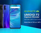 The UMIDIGI F2 is a new Android 10 device. (Source: UMIDIGI)