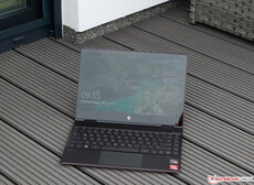 HP Envy x360 13 in the shade