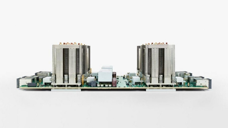 A 4-chip TPU board for Google Cloud. (Source: Google)