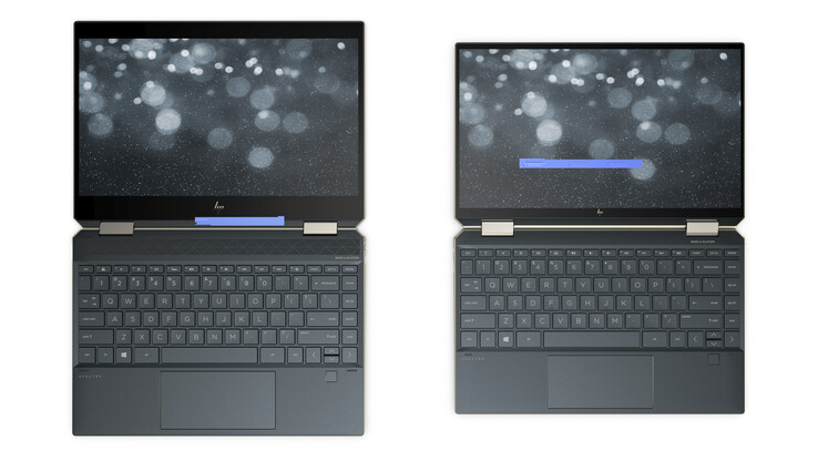 2018 Spectre x360 13 (left) vs. Late 2019 Spectre x360 (right)