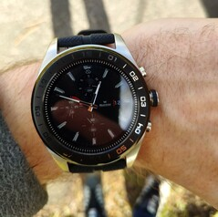 Using the LG Watch W7 outside in the shade