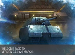 World of Tanks 0.7.0 is now live once again, to go down on April 3