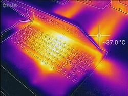 Thermal profile, side (Witcher 3)