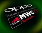 Oppo will be the second Chinese phone manufacturer to unveil its foldable handheld at MWC 2019, after Huawei. (Source: LetsGoDigital)