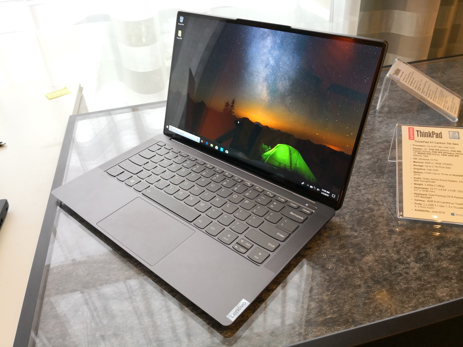 Lenovo Yoga S940: Ultrathin premium Yoga laptop includes a 4K HDR LCD with rounded glass-edges ...