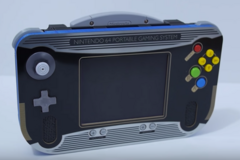 Ben Heck's custom made N64 Portable. (Image source: YouTube)