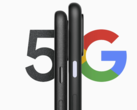 It seems that the Pixel 4a (5G) is the larger of the two devices here. (Image source: Google)