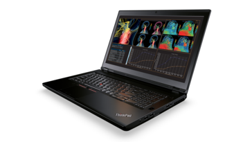 The ThinkPad P71 features two Thunderbolt 3 ports. (Source: Lenovo)