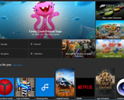 The Microsoft Store features mostly games and entertainment apps as of late. (Source: Microsoft Store)