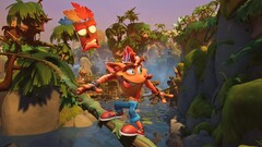 Crash Bandicoot 4: It's About Time features new worlds and new powers. (Image source: Activision)