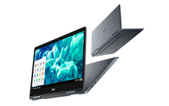 The Dell Inspiron Chromebook 14 2-in-1 laptop used a cloud-based Chrome OS. (Image source: Dell)