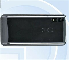 ZTE is expected to unveil the new Blade V10 at MWC in late February. (Source: TENAA)