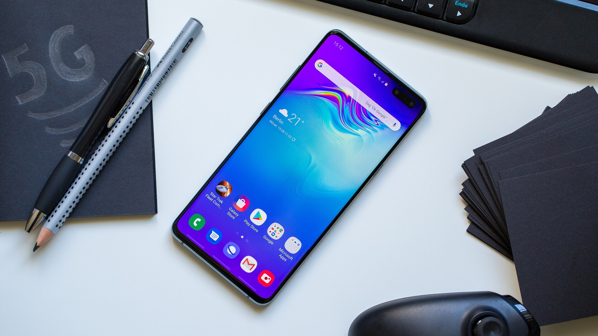 Hands On With One Ui 2 1 On The Samsung Galaxy S10 Series Notebookcheck Net News