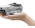 The DJI Mavic Mini is no bigger than your average smartphone. (Source: DJI)