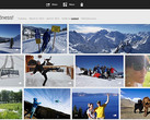 Google+ Photos app running on Chrome OS