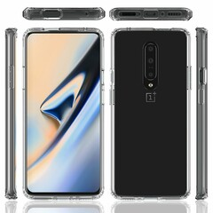 "One of the new ""OnePlus 7 case"" renders. (Source: Twitter)"