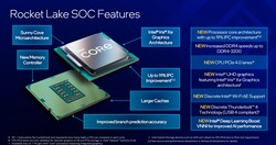 Rocket Lake-S - Features (source: Intel)