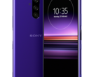 The deep purple Sony Xperia 1 could be revealed on February 25. (Source: Twitter/Evan Blass)