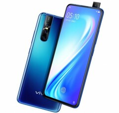 The Vivo S1 Pro features upgraded components and a signature pop-up camera. (Source: Vivo)