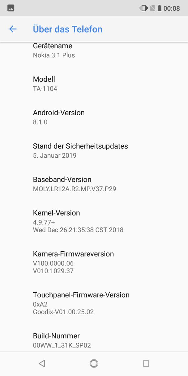 Nokia 3 1 Plus Smartphone Review - NotebookCheck net Reviews
