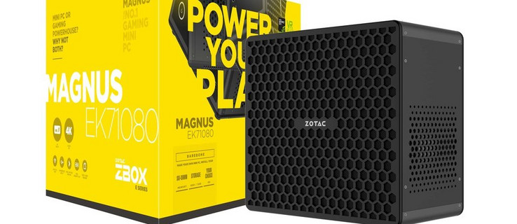 Zotac ZBOX Magnus EK71080 (i7-7700HQ, GTX 1080) Mini PC