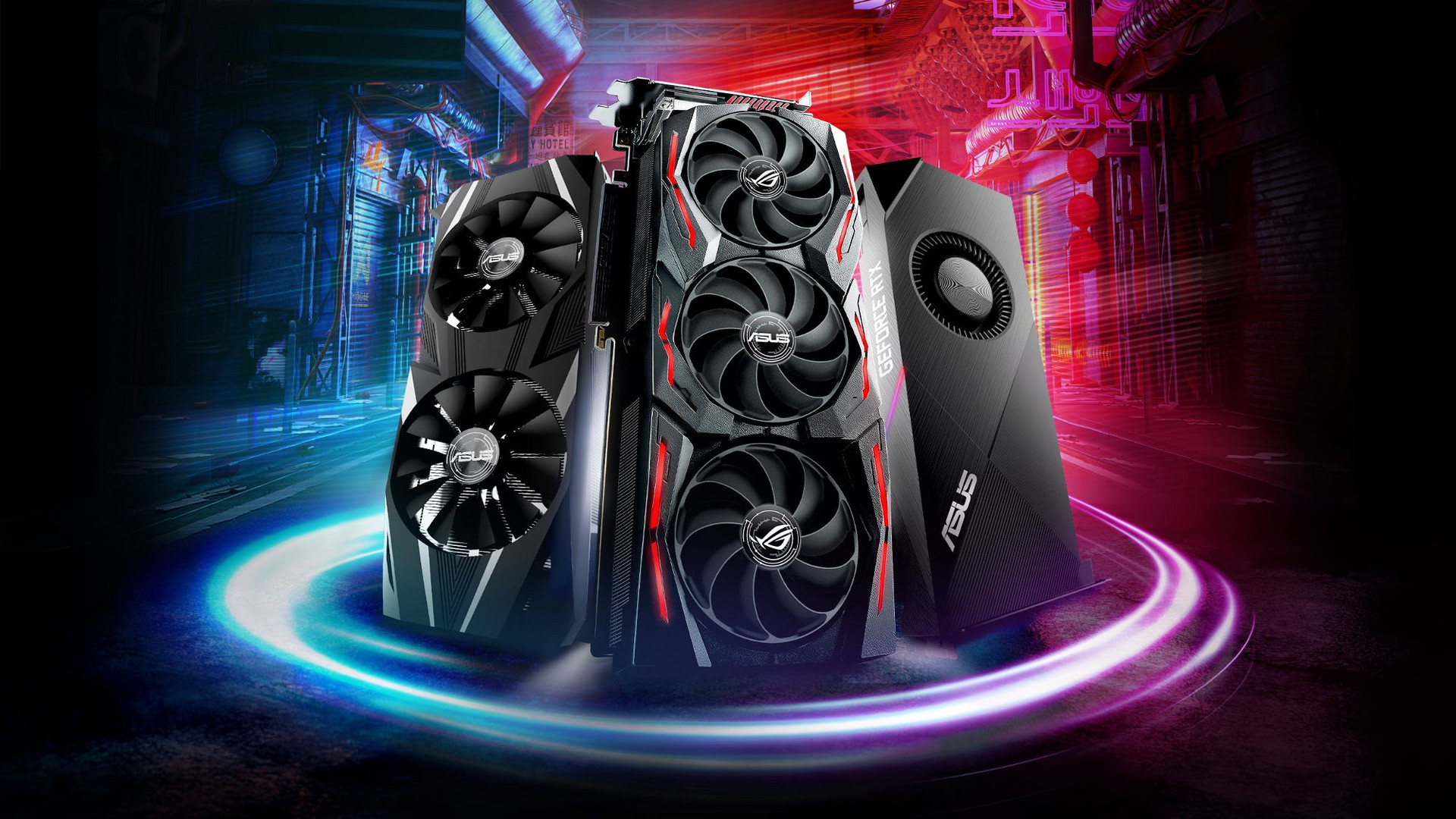 Asus will have three trims of the GeForce RTX 2070 coming next month