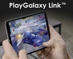 Samsung will most likely launch a gaming smartphone together with the PlayGalaxy Link mobile gaming service. (Source: LetsGoDigital)
