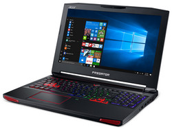 The Acer Predator 15 G9-593-751X, provided by notebooksbilliger.de